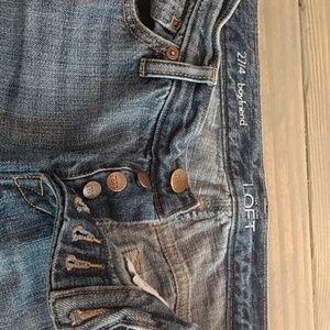 Loft ripped jeans